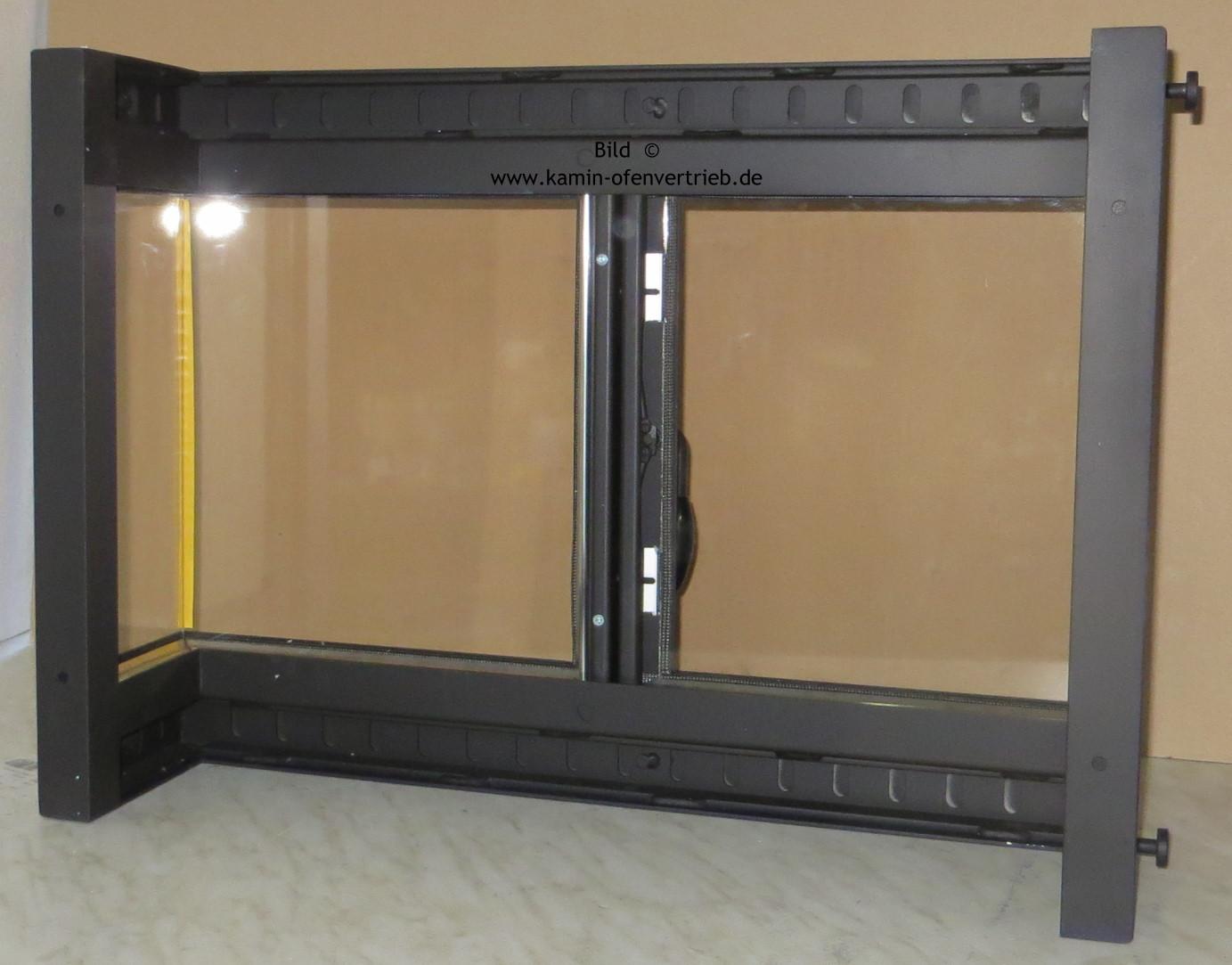 kamint ren kamint r f r offenen kamin mit glas sichtfenster und rahmen und l ftungsgitter. Black Bedroom Furniture Sets. Home Design Ideas