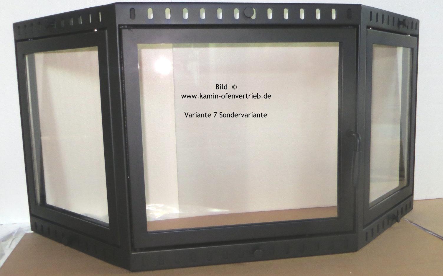 Superb ... Kamintür Mit Glas Mit Seitenfenster Für Offenen Kamin Variante 7