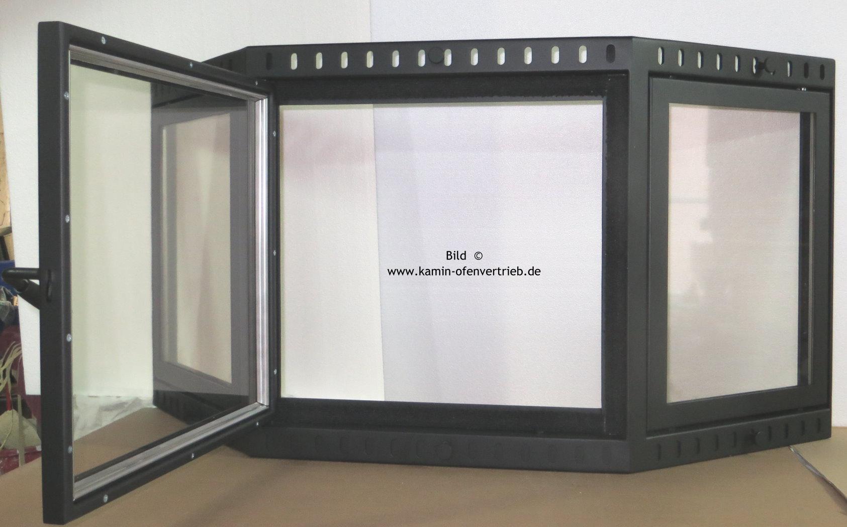 Fabulous Kamintr Mit Glas Mit Fr Offenen Kamin Variante With Kamintr  Edelstahl